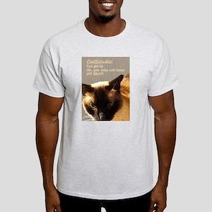 Cattitude Siamese Light T-Shirt