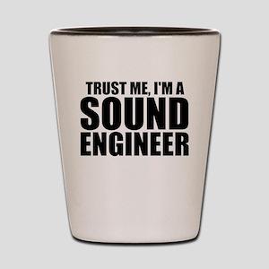 Trust Me, I'm A Sound Engineer Shot Glass