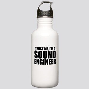 Trust Me, I'm A Sound Engineer Water Bottle