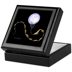 Scorpio Zodiac Intimates Black Keepsake Box