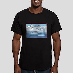 Rain Men's Fitted T-Shirt (dark)
