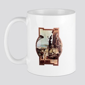 Gustav Klimt The theatre of Taormina Mug