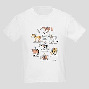 School Horse Species Kids T-Shirt