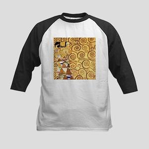 Gustav Klimt the Expectance Kids Baseball Jersey