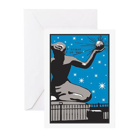 Spirit of Detroit Greeting Cards (Pk of 10)