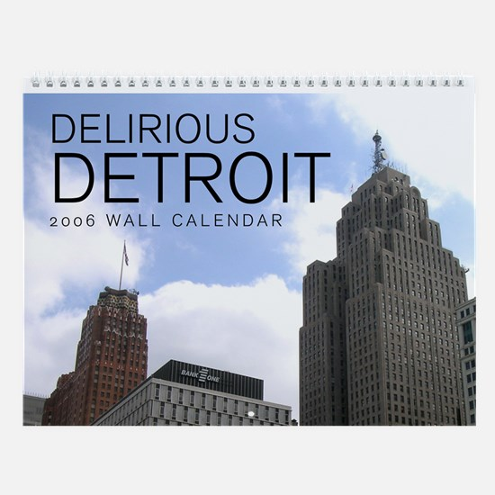 Detroit Architecture Wall Calendar