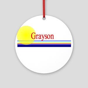 Grayson Ornament (Round)