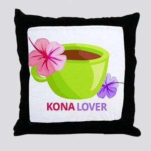 Kona Lover Throw Pillow