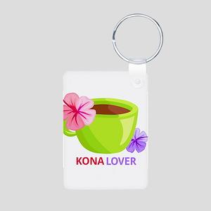 Kona Lover Aluminum Photo Keychain