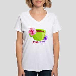 Kona Lover Women's V-Neck T-Shirt