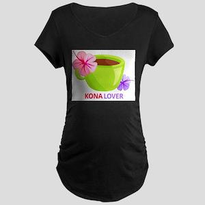 Kona Lover Maternity Dark T-Shirt