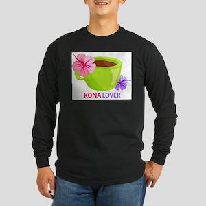Kona Lover Long Sleeve Dark T-Shirt