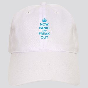 Now paninc and freak out Cap