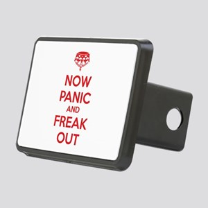 Now paninc and freak out Rectangular Hitch Cover