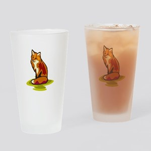 Fox Drinking Glass