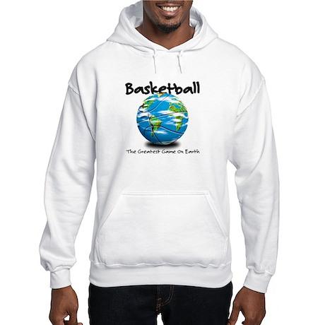 Basketball Globe Hooded Sweatshirt