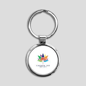 Canada 150 Keychains