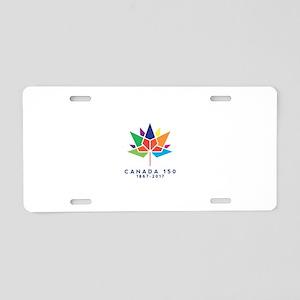 Canada 150 Aluminum License Plate