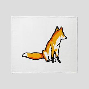 Fox Throw Blanket