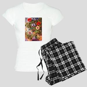 Claude Monet Anemonen Women's Light Pajamas