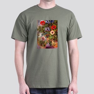 Claude Monet Anemonen Dark T-Shirt