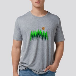 SETS THE MOOD Mens Tri-blend T-Shirt