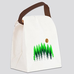 SETS THE MOOD Canvas Lunch Bag