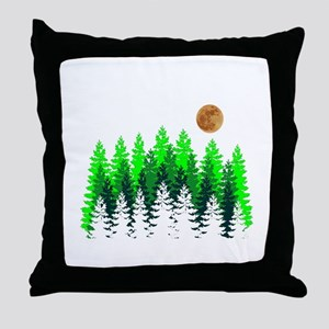 SETS THE MOOD Throw Pillow