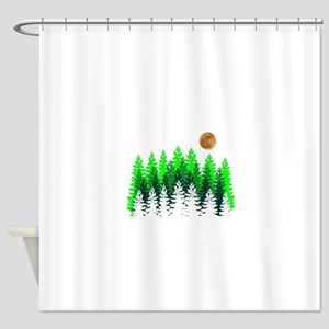 SETS THE MOOD Shower Curtain