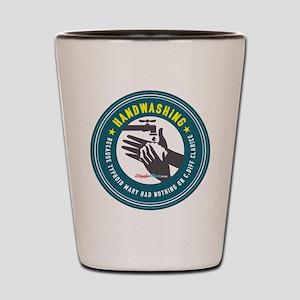 Handwashing Shot Glass