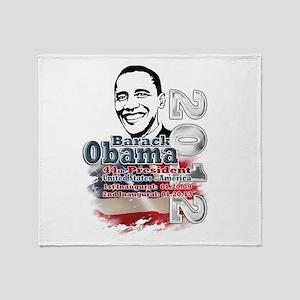 Obama 2012: Throw Blanket