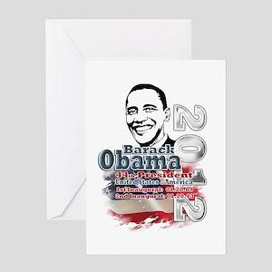 Obama 2012: Greeting Card