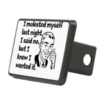 Molested Myself Rectangular Hitch Cover