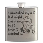 Molested Myself Flask