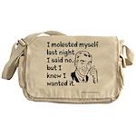 Molested Myself Messenger Bag