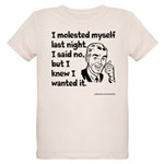 Molested Myself Organic Kids T-Shirt