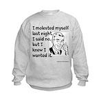 Molested Myself Kids Sweatshirt