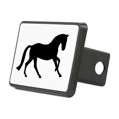 canter black.png Rectangular Hitch Cover