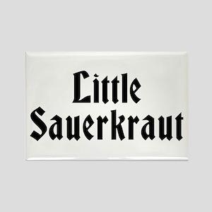 Little Sauerkraut Rectangle Magnet