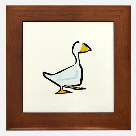 Goose Framed Tile