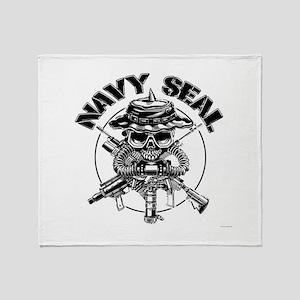 Socom emblem Throw Blanket