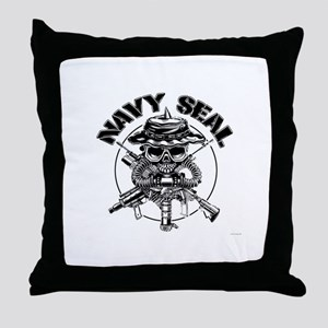 Socom emblem Throw Pillow