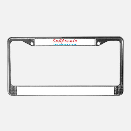California - Golden State License Plate Frame