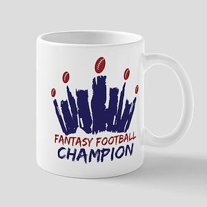 Fantasy Football Champ Crown Mug