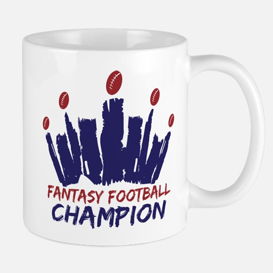 Fantasy Football Champ Crown Mug