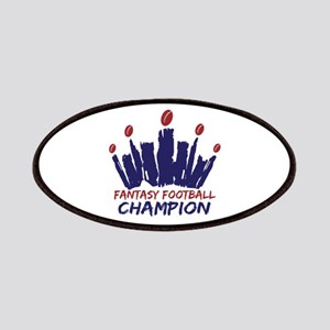 Fantasy Football Champ Crown Patches