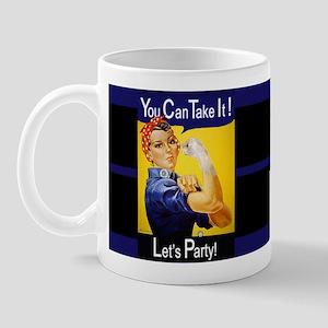 Rosie Fist Mug