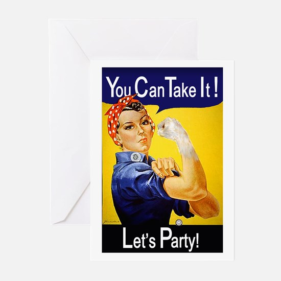 Rosie Fist Greeting Cards (Pk of 10)