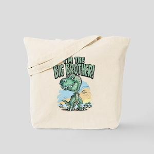 Big Brother T-Rex Tote Bag