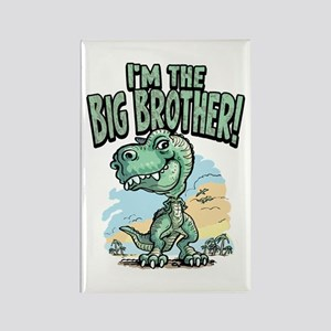 Big Brother T-Rex Rectangle Magnet